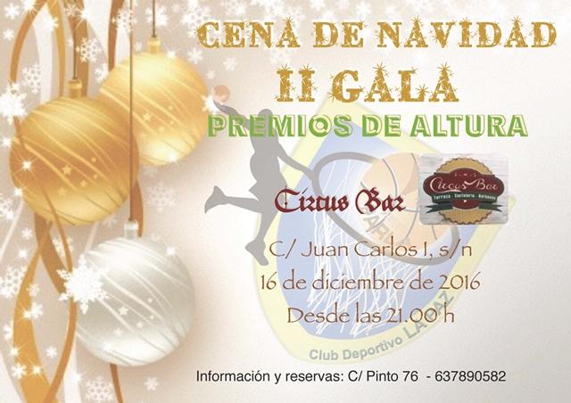 Cena de Navidad 2016 (II Gala Premios de Altura)