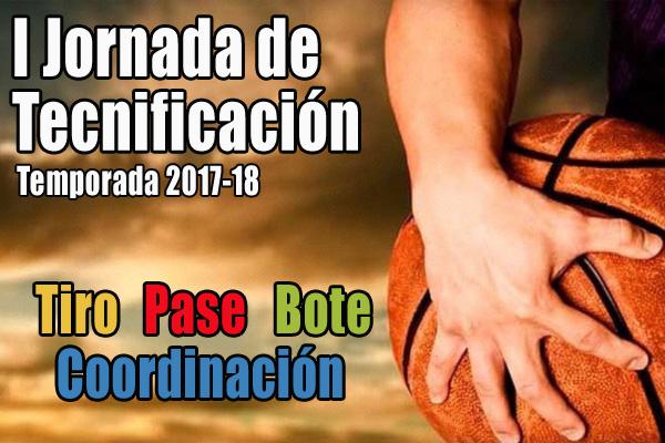 I Jornada de tecnificación 2017-18