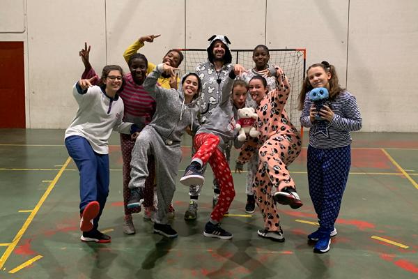Gran éxito de participación en el Día Nacional del Pijama